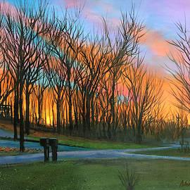 Irish Hills Sunset by Robert Korhonen