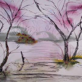 Island Spring  by Catherine Ludwig Donleycott