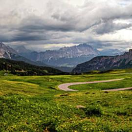 Italian Mountain Pass by Norma Brandsberg