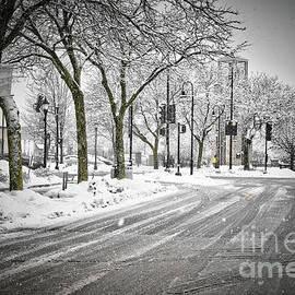 It's Winter Time in the City by Deborah Klubertanz