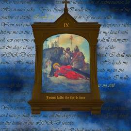 IX Jesus Falls The Third Time by Joan Stratton