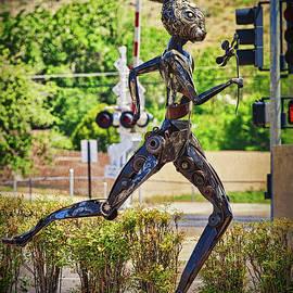 Jack rabbit art in Kingman Arizona, on Route 66 - vertical by Tatiana Travelways