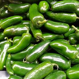 Jalapenas Peppers Anyone by Charlotte Gray
