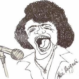 James Brown Godfather Of Soul by Geraldine Myszenski