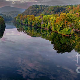 James River in Autumn by Norma Brandsberg