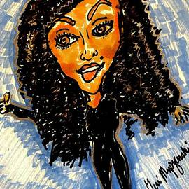 Janet Jackson Black Diamond Tour by Geraldine Myszenski
