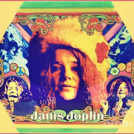 Janis Joplin Poster Art by Diann Fisher