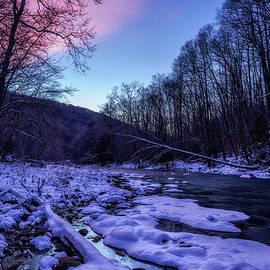 January Dawn along Cranberry River by Thomas R Fletcher