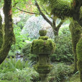 Japanese Garden Statuary - Butchart Gardens - Victoria BC Vancouver Island - Nature Photography by Brooks Garten Hauschild