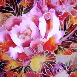 Japanese Peony Garden by Susan Maxwell Schmidt