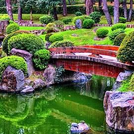 Japanese Strolling Garden by Robert McKinstry