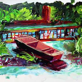Japanese Water Garden by Charles Wallis