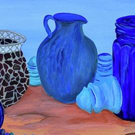 Jars and Vases Still Life by Mike Nahorniak