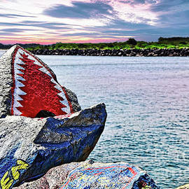 JAWS - Beach Graffiti
