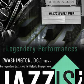 Jazzis? Blues Alley by Carl Bradford