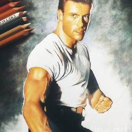 Jean-Claude van Damme by Saveliy Yurchenkov