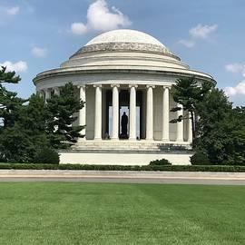 Jefferson Memorial by Amy Scheer