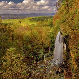 Jeffersons Falling Springs Waterfall by Norma Brandsberg