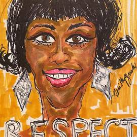 Jennifer Hudson Respect  by Geraldine Myszenski