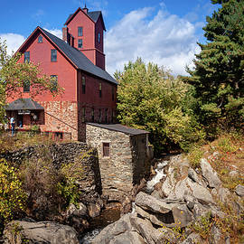 Jericho Vermont's Old Red Mill by Jeff Folger