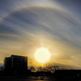 Jersey Shore Sun Halo by Susan Candelario