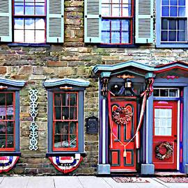 Jim Thorpe PA - Fancy Doors and Windows by Susan Savad