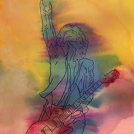 Jimmy Page by Matthew Dodd