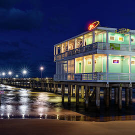 Jimmy's On The Pier, Galveston by Christopher Cagney