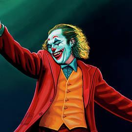 Joaquin in Joker Painting by Paul Meijering