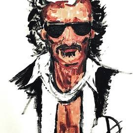 Joe Perry Pop Portrait by Debora Lewis