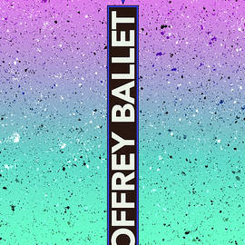 Joffrey Ballet Marque Gradient Background by Enzwell Designs