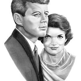 John and Jackie Kennedy by Murphy Art Elliott