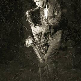 John Coltrane by Boghrat Sadeghan