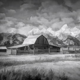 John Moulton Barn - Grand Teton by Jennifer Stackpole
