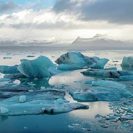 Jokulsarlon, the Glacier lagoon, Iceland by Dubi Roman