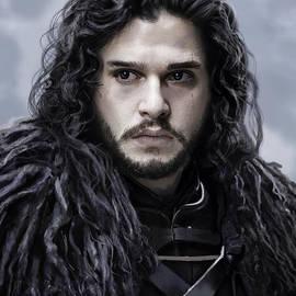Jon Snow - GOT Digital Portrait by Gururaj Paradkar