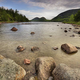 Jordan Pond - Acadia by Stephen Vecchiotti