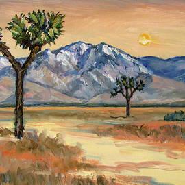 Joshua Trees Mt San Jacinto by Robert Gerdes