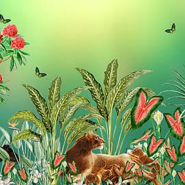 Joyful Morning In The Jungle by Johanna Hurmerinta