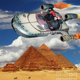 Joyride Over Egypt by Bob Christopher