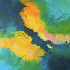 June Garden by Nancy Merkle