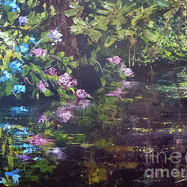 Hydrangea Reflections by Zan Savage