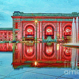 K C Union Station Red Friday DWC by Kevin Anderson