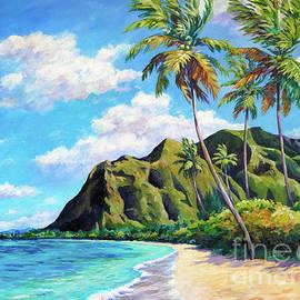 Kaaawa Beach Oahu by John Clark
