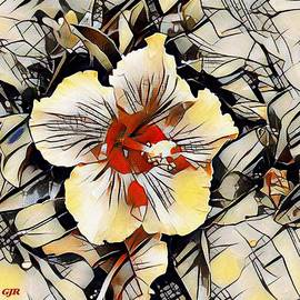 Kandinskycalia - Hibiscus Flower - For Anne. L A S by Gert J Rheeders