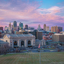 Kansas City Sunset by Steven Bateson