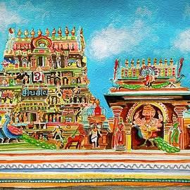 Kapaleeswarar Temple by Ramesh Mahalingam