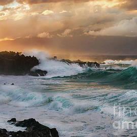 Kapalua Oneloa Aqua Waves by Michele Hancock Photography