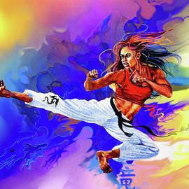 Karate Dragon by Hanne Lore Koehler