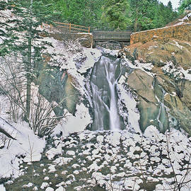 Katarachtis Is Greek For Waterfall. Helen Hunt Falls, North Cheyenne Canyon, Colorado Springs by Bijan Pirnia